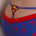Alisa Shows Her Supergirl Thong - Picture 3