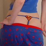 Alisa Shows Her Supergirl Thong - Picture 4