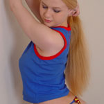 Alisa Shows Her Supergirl Thong - Picture 5