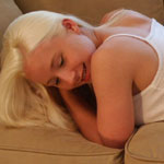 Teen Blonde Girl In Supergirl Panties - Picture 13