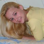 Adorable Teen Blonde Teases - Picture 3