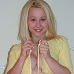 Adorable Teen Blonde Teases - Picture 11