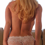 Blonde Teen Busts Out Of Shirt - Picture 13