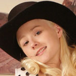 Little Blonde Cowgirl - Picture 1