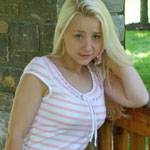 Cute Blonde Teen In Tight Sundress - Picture 1