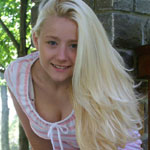 Cute Blonde Teen In Tight Sundress - Picture 7