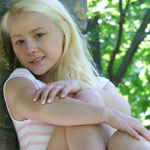 Cute Blonde Teen In Tight Sundress - Picture 14