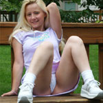Park Day Panty Teen Tease - Picture 5