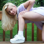 Park Day Panty Teen Tease - Picture 11